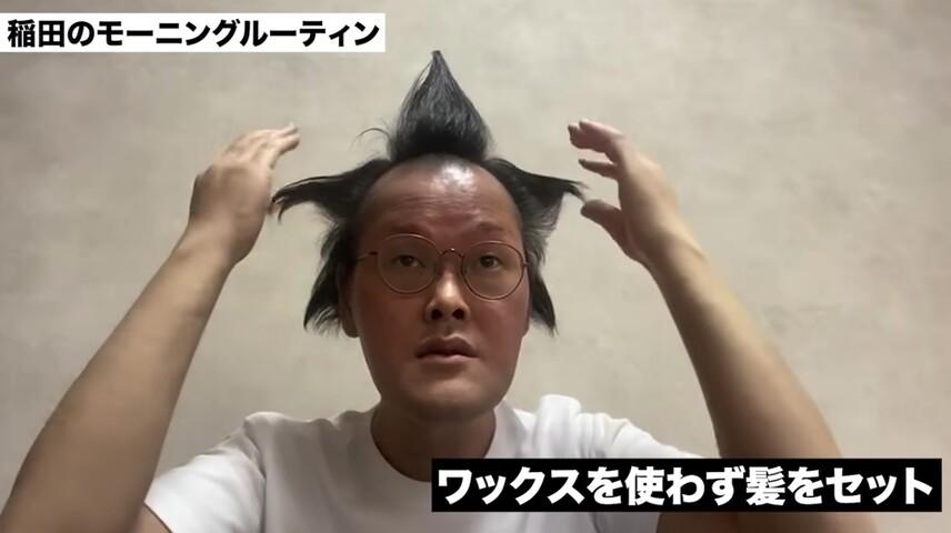アインシュタイン稲田 髪の毛