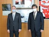 ジョセフ・ヤング駐日米国臨時代理大使 面会