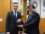ハンガリー シーヤールトー外務貿易大臣表敬訪問