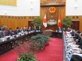 ベトナムのフック首相との首脳会談