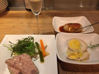 梅田 ソース料理とワインのお店 赤白