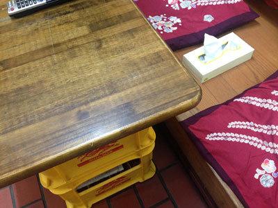 姫路 お好み焼 久ちゃん テーブル