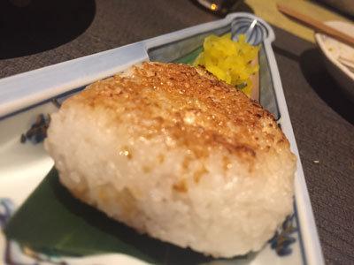 姫路 和み庵 篤屋 焼きおにぎりチーズ