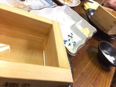 姫路 焼鳥 串焼き 一番 櫻正宗 樽酒