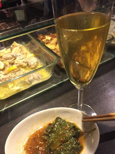 姫路 立吞み Amsroom115 スパークリングワイン