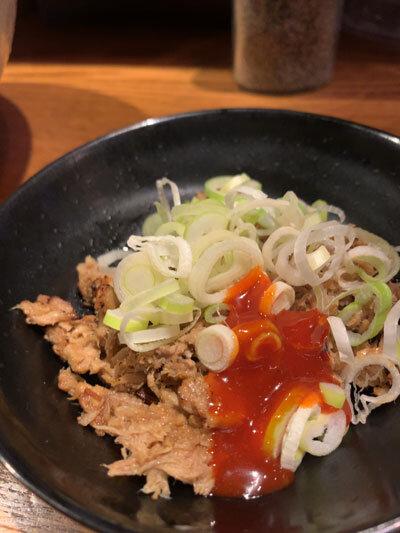姫路 麺や 六三六 ほぐし豚