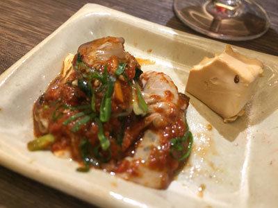 姫路 韓国料理 ぴなり 牡蠣 豆腐