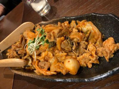 赤穂 牡蠣 かましま 牡蠣豚キムチ