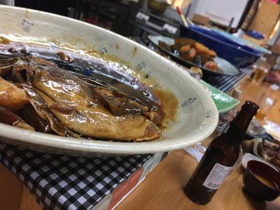 明石 鮪屋の食堂 海路 魚煮物