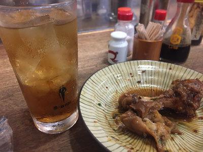 神戸 元町 大衆酒場 すず ウーロンハイ