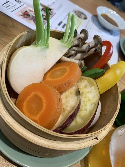 龍野 クラテラス ランチ 蒸し野菜