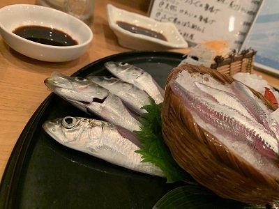 神戸 磯魚料理 いわし屋 お造り