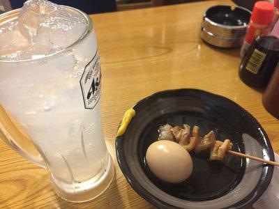 大阪 居酒屋 八八八 チューハイ