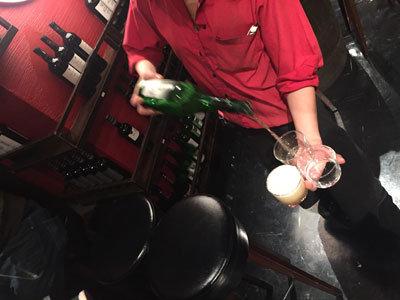 姫路 スペイン バルマル アップルワイン