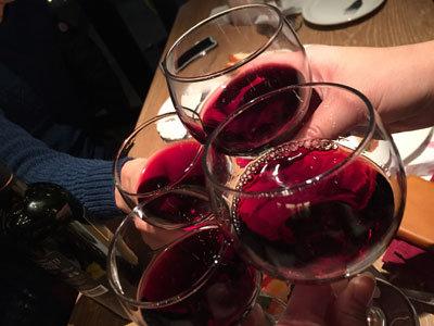 姫路 イタリアン バルマル 乾杯
