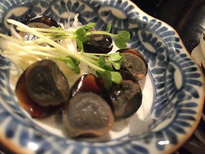 神戸 貝汁そば ボンゴレ亭 うずらピータン