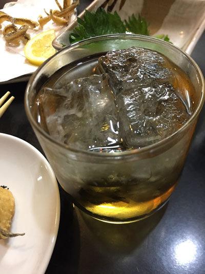 大阪 西九条 高架下 トンネル横丁 味むそう 梅酒ロック