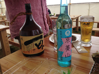 姫路 妻鹿漁港 とれとれ市場 かき小屋 BBQ お酒