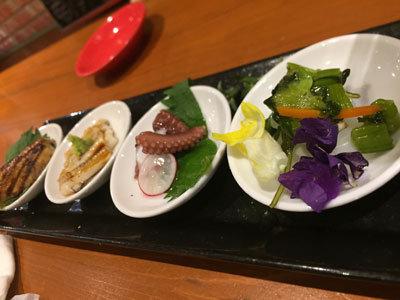 姫路 AVANZAR アバンサール 豆皿前菜
