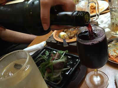 姫路 イタリアン MARUMASA 赤ワイン