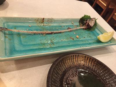 姫路 お食事処 御bar飯 秋刀魚
