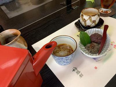 姫路 蕎麦 梅麟館 そば湯