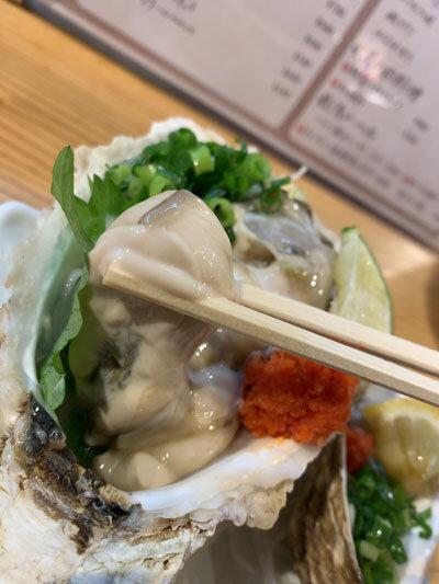 姫路 貝屋 マルホウ 岩牡蠣