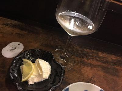 明石 立吞み たなか屋酒店 リコッタチーズ
