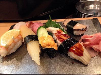 大阪 寿司 市場ずし 上にぎり