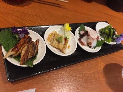 姫路 寿司BAR AVANZAR アバンサール 豆皿前菜