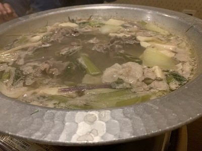 大阪 草鍋 えんや 肉鍋