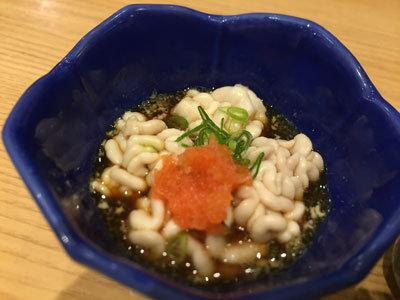 大阪 さかなやのmaru寿司 白子ポン酢