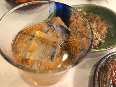 プレミアム山崎梅酒 ロック