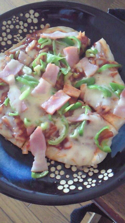 フライパンで出来る ピザ kansei