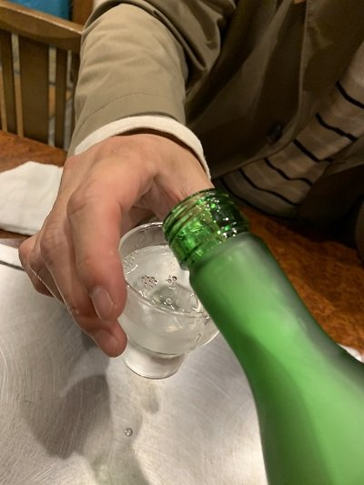 京都 お好み焼き きらく 日本酒