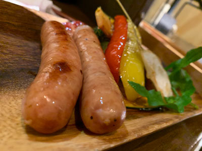 姫路 肉バル TSUMUGIYA グリルソーセージ