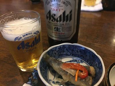 広畑 寿司 太閤寿司 瓶ビール