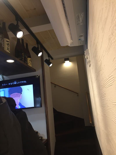 姫路 日本酒バル わが家 二階