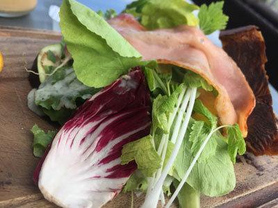 大阪 北浜 ノースショア モーニング 野菜