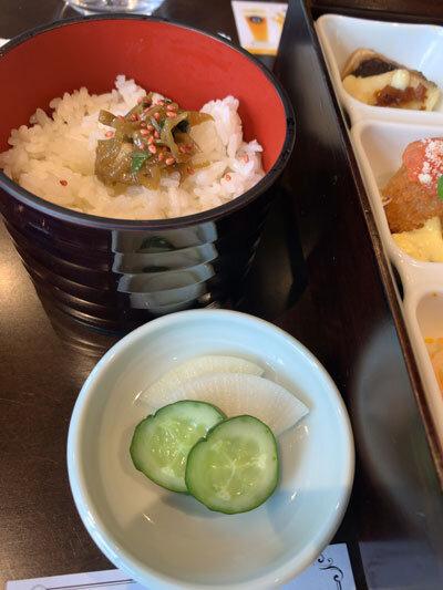 岡山県 宮下酒造 ランチ ご飯 漬物