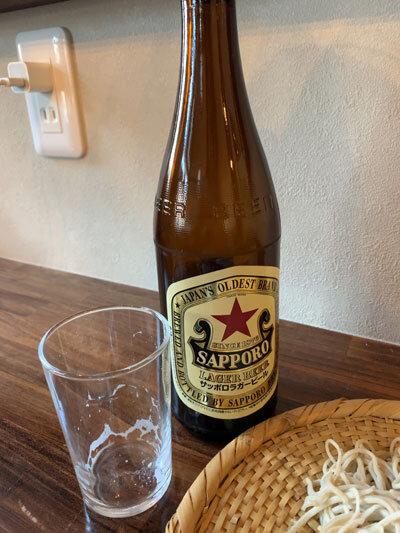 姫路 蕎麦 戀 瓶ビール