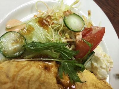 神戸 大衆居酒屋 食通 権太 サラダ