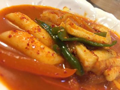 加古川 韓国料理 明洞 トッポギ