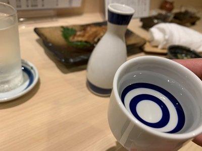姫路 寿司 松葉寿し 熱燗