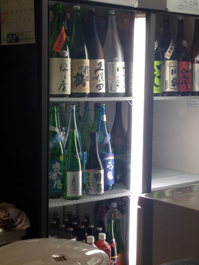西明石 立呑み あいわ 日本酒