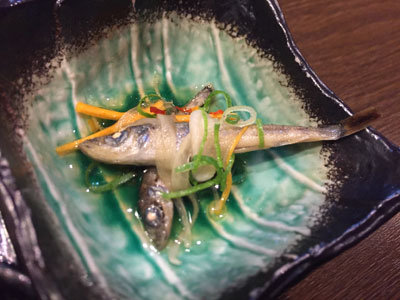 姫路 創作料理 一張羅 メヒカリ