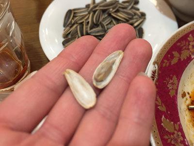 明石 四川料理 天府真味 ひまわりの種