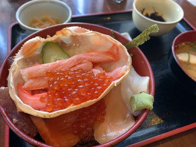 鳥取 市場料理 賀露幸 海鮮丼