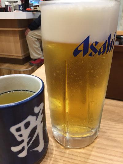 姫路 吉野家 吉吞み 生ビール