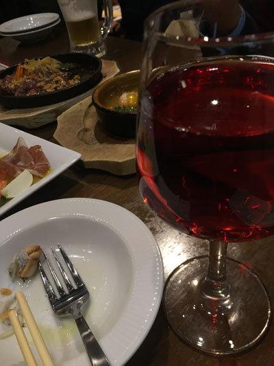 姫路 ワインバル テルミニ ロゼワイン